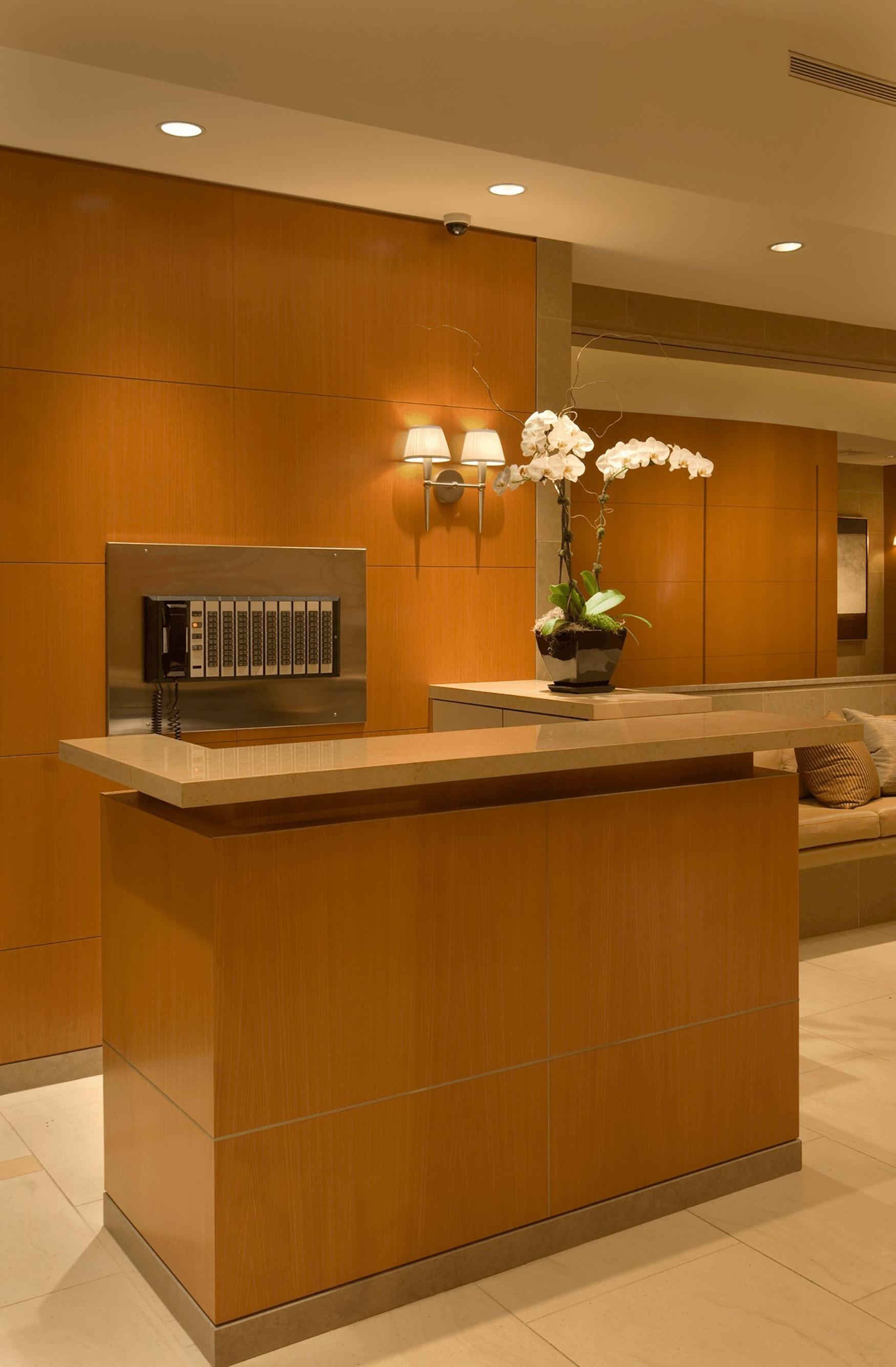 Concierge desk at 301 East 63rd Street