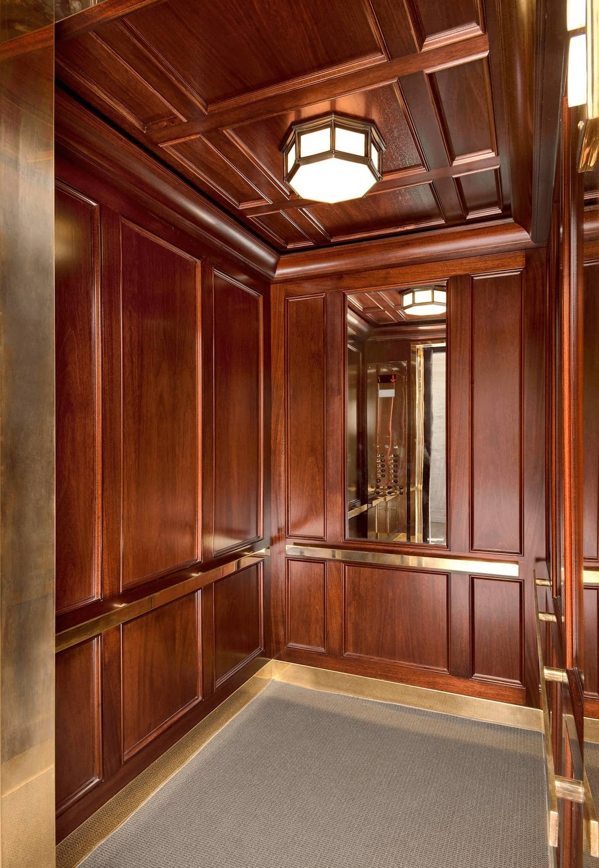 Elevator at East 9th Street