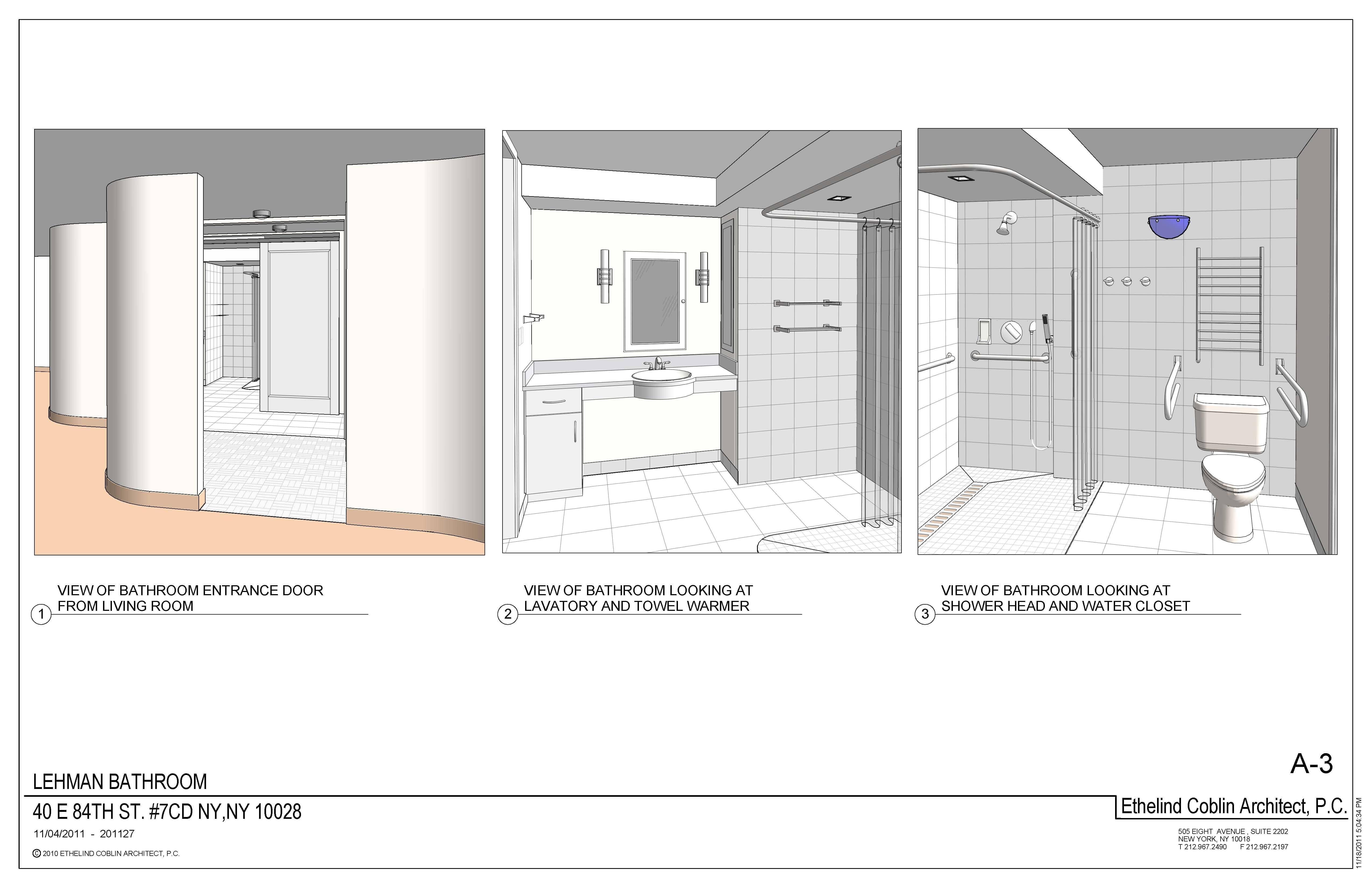 Rendering of inclusive restroom.