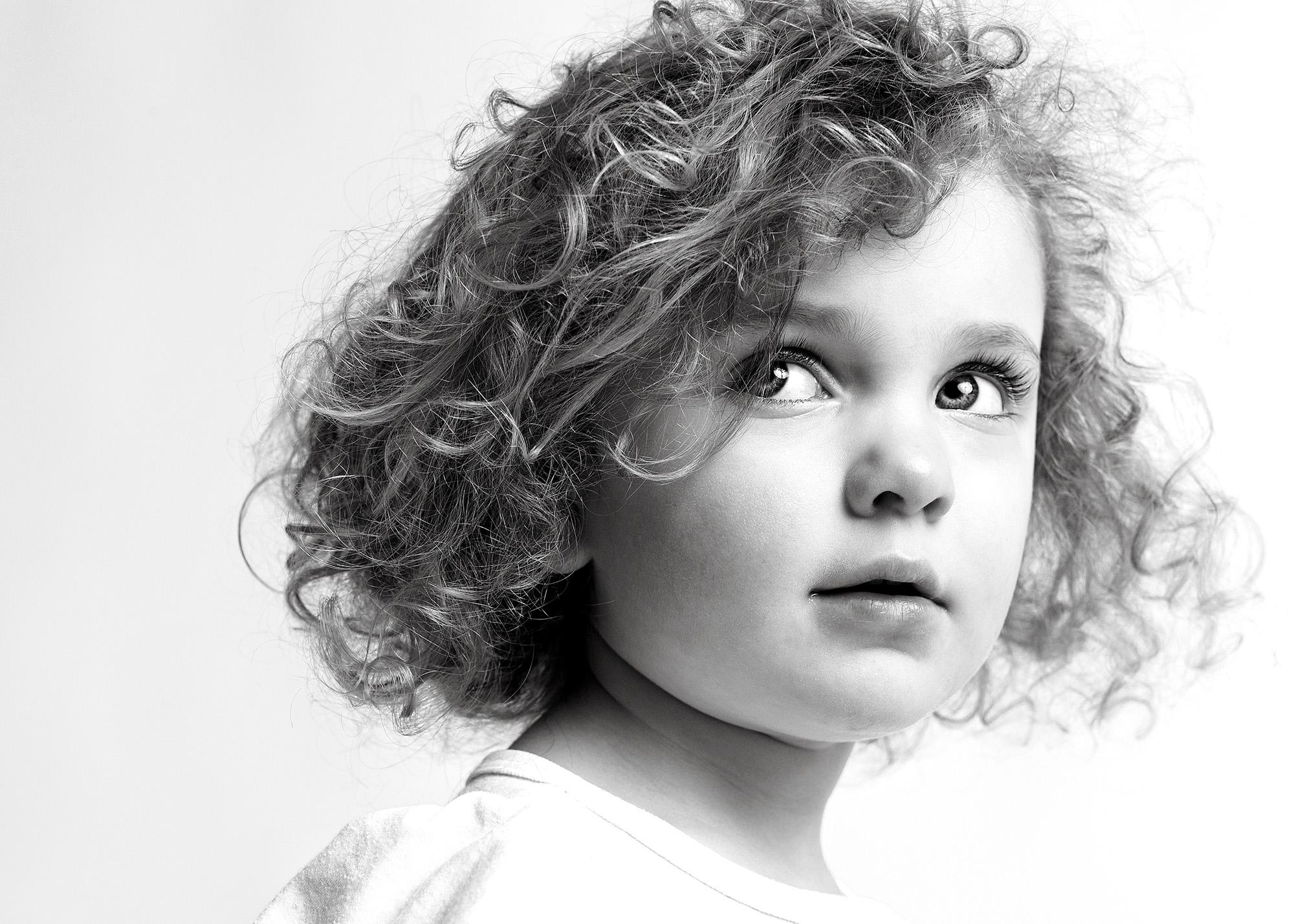 Unique children's portraits for Seattle based, Alki Beach Academy.