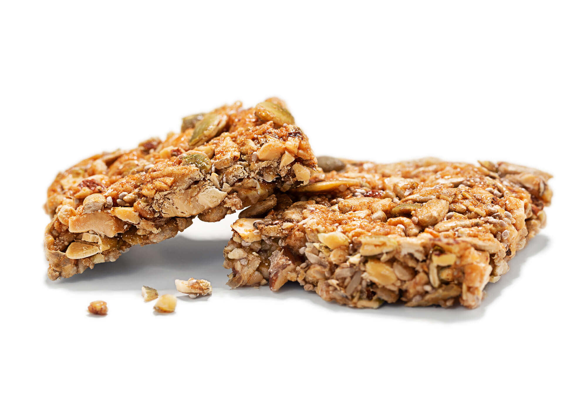 Crumbly granola bar