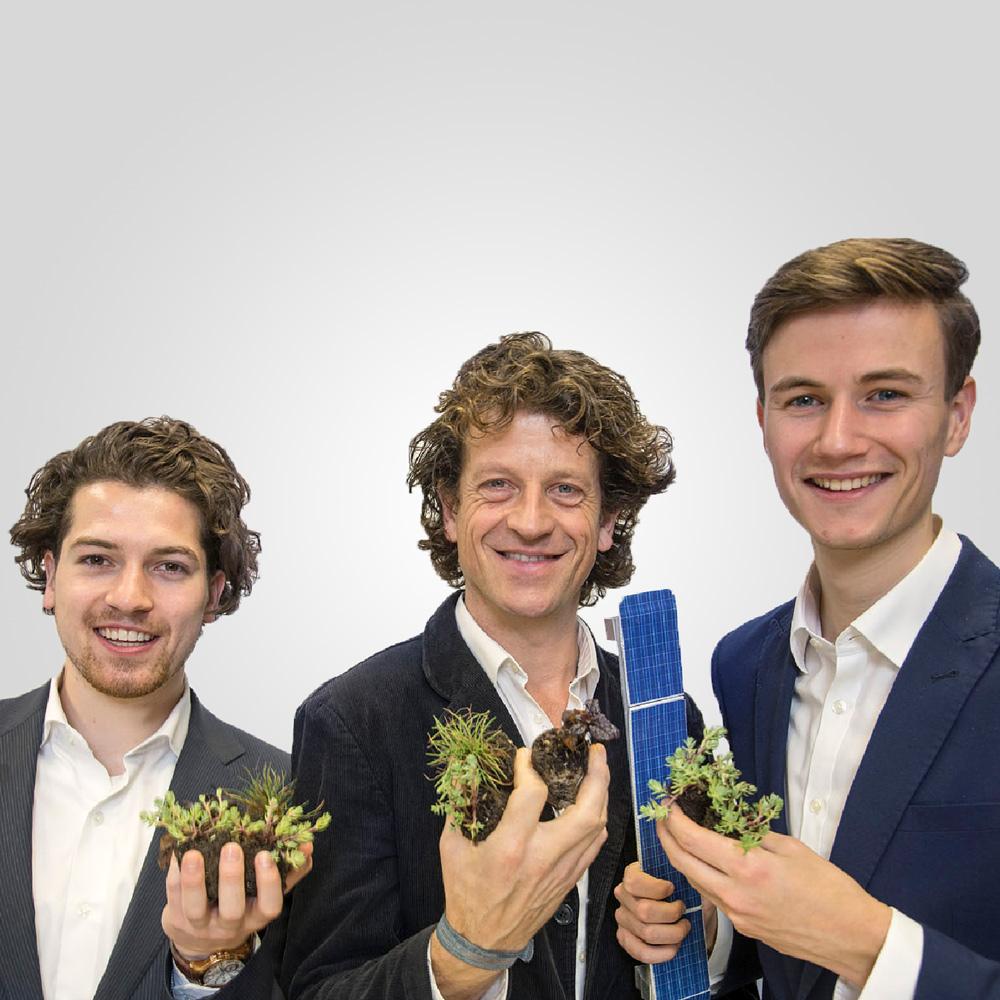 De 3 eigenaren van Solar Sedum