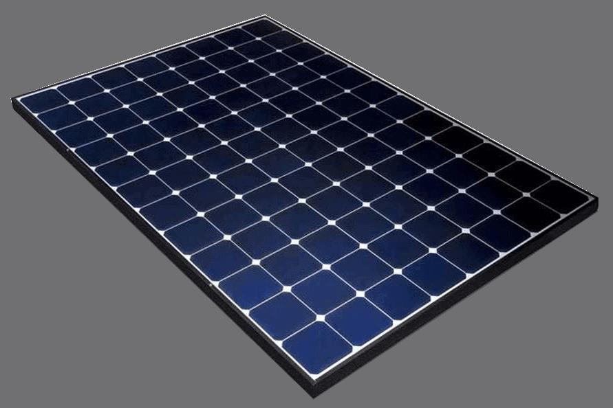 Zonnepaneel van het Amerikaanse merk SunPower