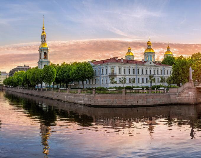 Реки и каналы СПб