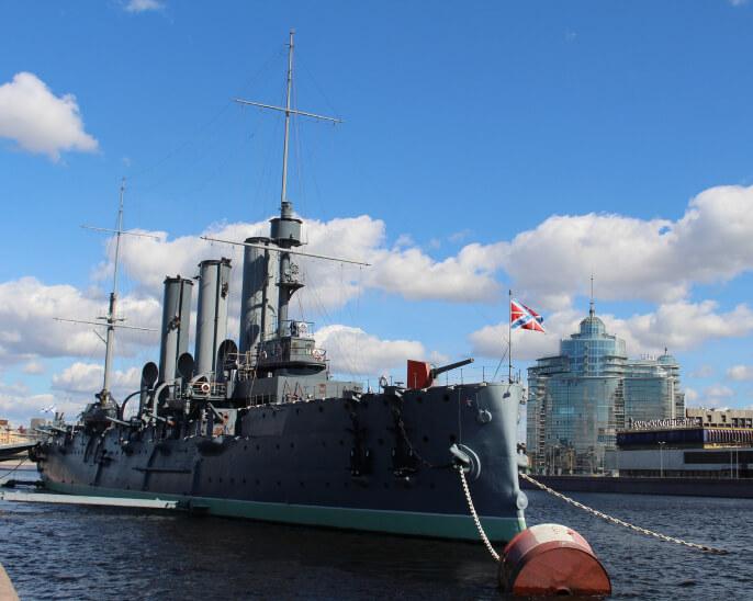 Крейсер Аврора  1