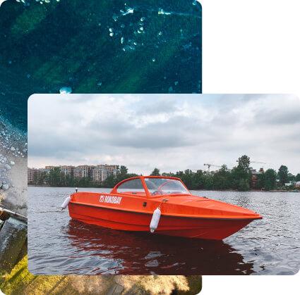 Прогулка на катере Санкт Петербург