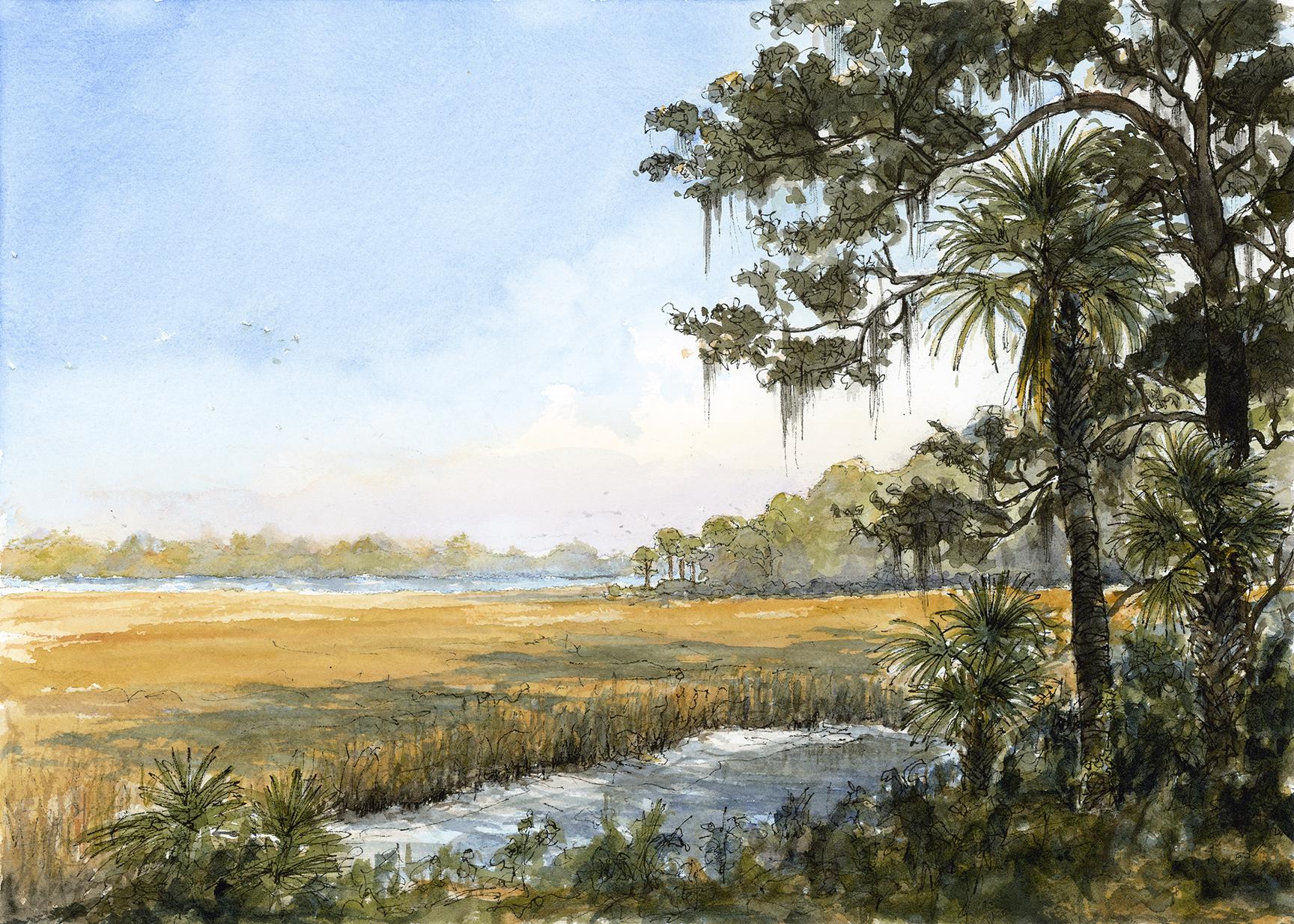 Daufuskie Marsh Afternoon
