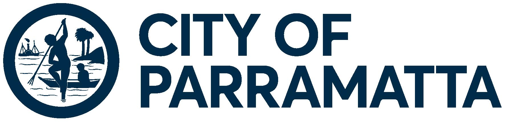 City of Parramatta logo, a partner of Spot Parking