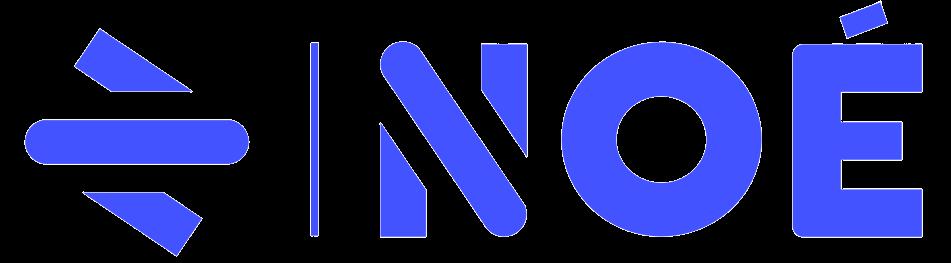 Noé logo bleu