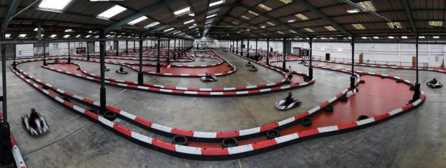 Kartland Performance Indoor Raceway and Briq start a fast ride together!