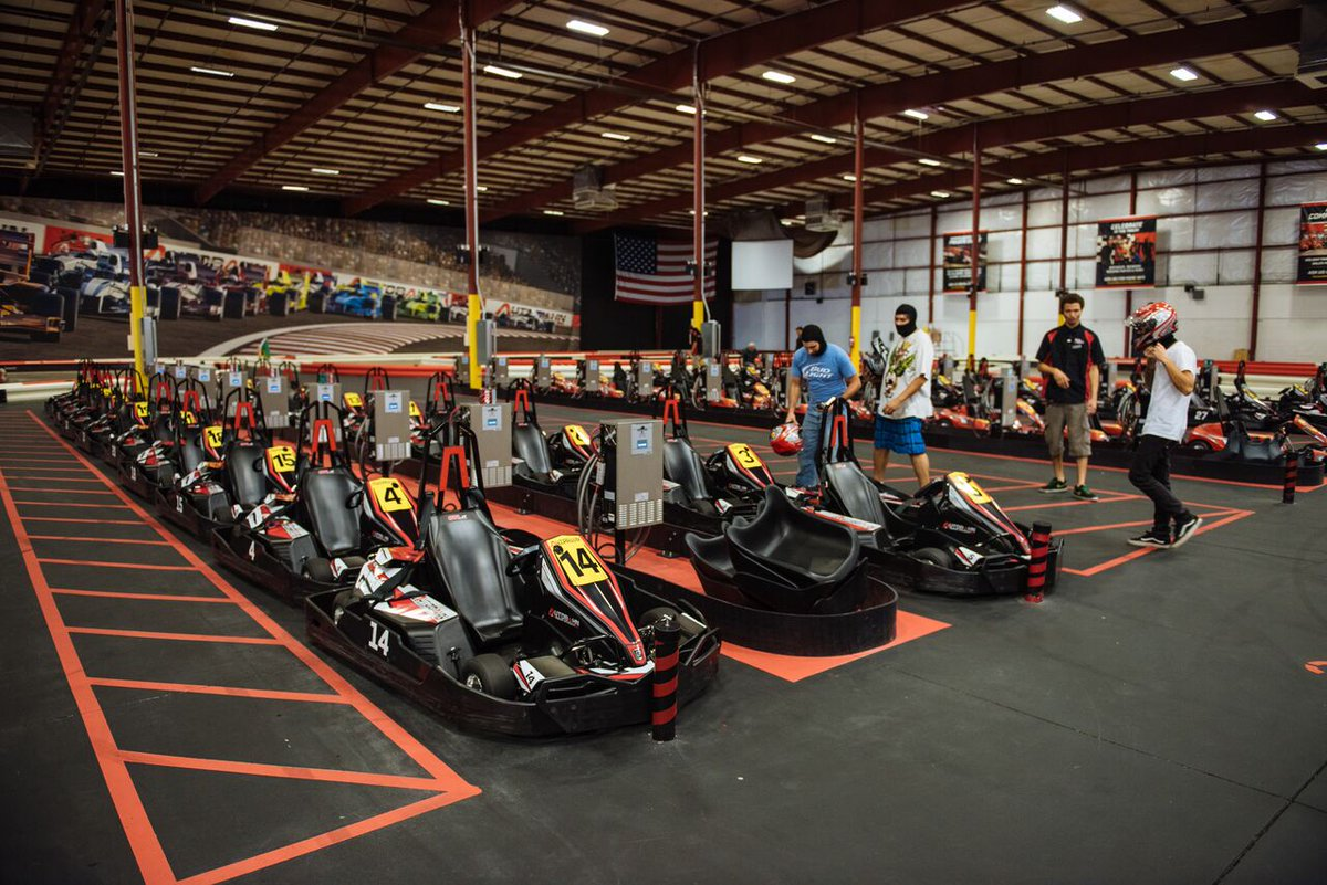 A deeper view of the Briq & Autobahn Indoor Speedway partnership