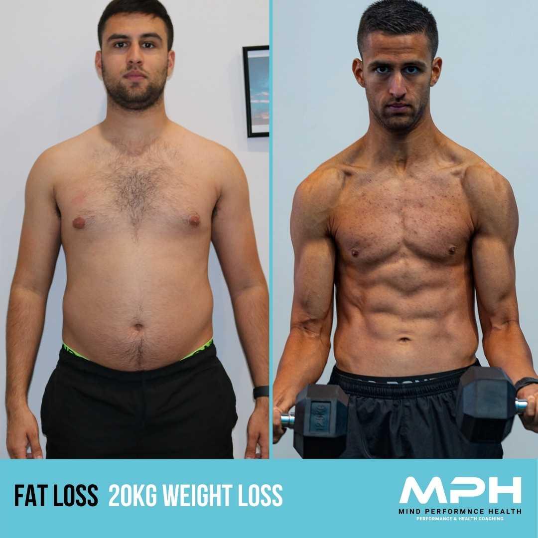 Jordan's 15.7% Body Fat Loss & 20kg Weight Loss
