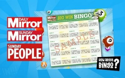 Daily Mirror Bingo Numbers Big Win Bingo 2021