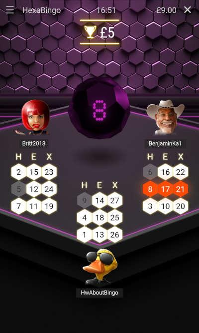 Hexabingo Game