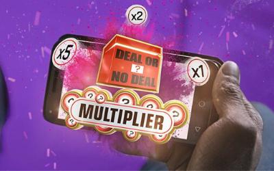 Sky Launch Deal or No Deal Multiplier Bingo