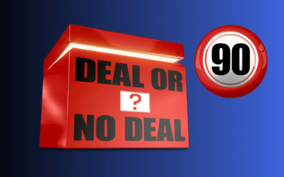 Deal or No Deal Bingo 90