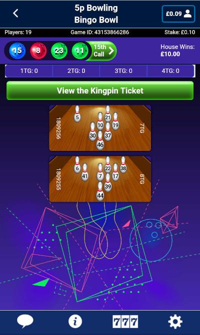 Bingo Bowling at William Hill