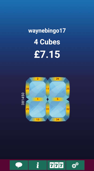 Cash Cubes Winner