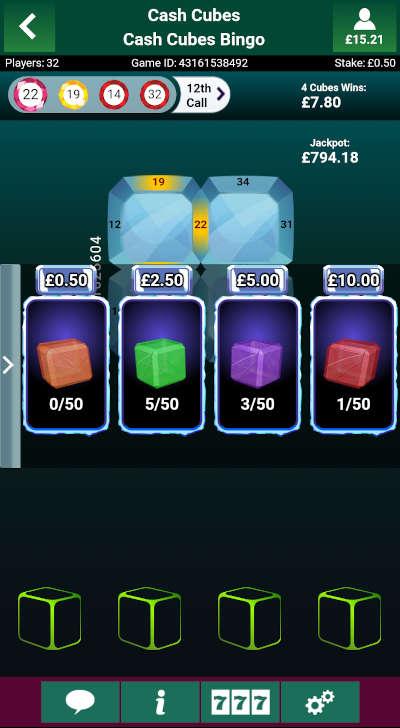 Cash Cubes Collection Items