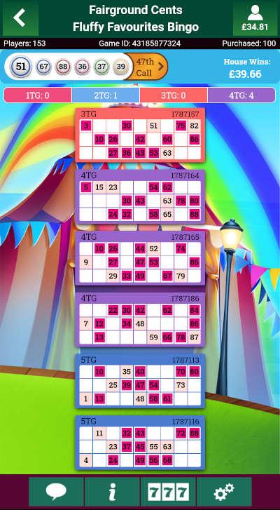 Fluffy Favourites Bingo