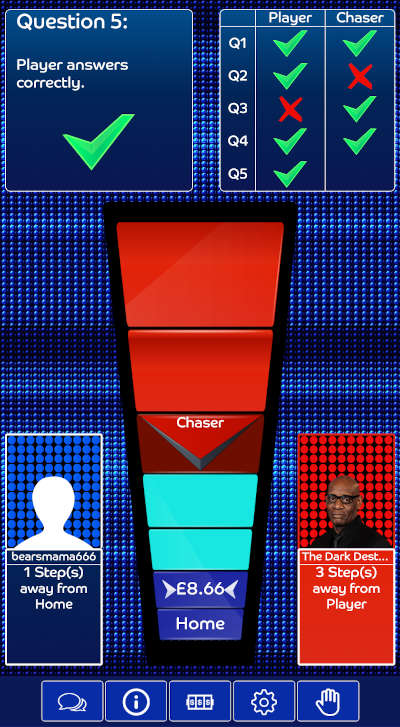 The Chase Bingo 'Beat the Chaser' Feature