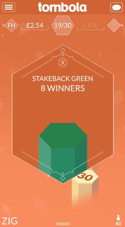 Hex stakeback winners