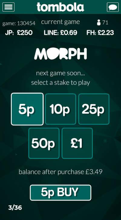 Morph select stake
