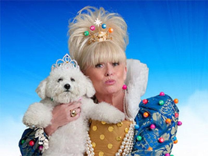 Barbara Windsor as the Queen of Bingo