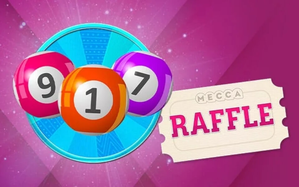 Rank Launch New 'Mecca Raffle'