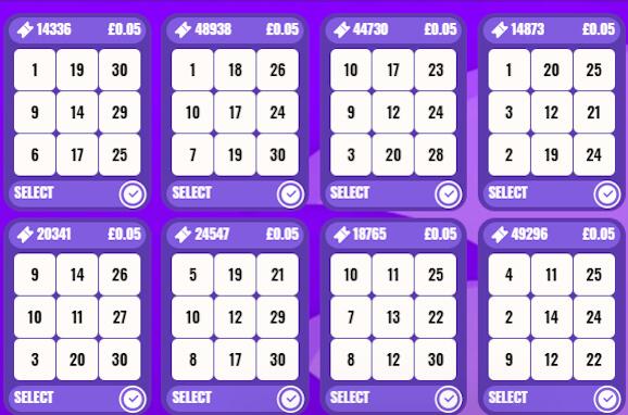 30 ball bingo on entain sites