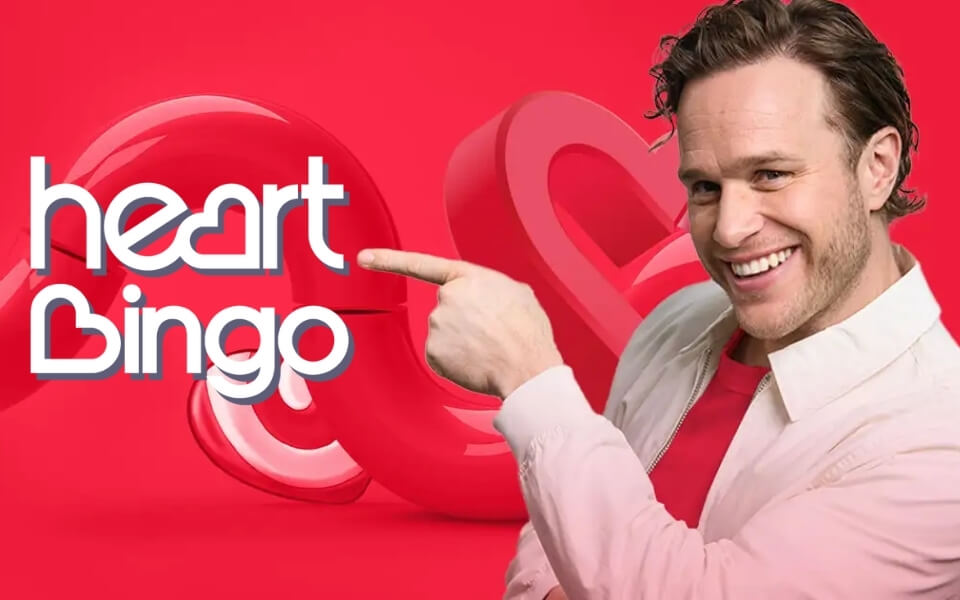 Olly Murs launches the New Heart Bingo