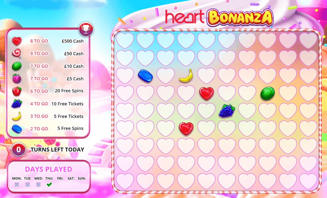 Heart Bonanza Daily Free Game