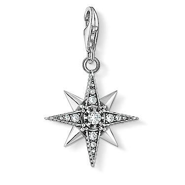 1756-643-14  Charm-Anhänger Royalty Stern