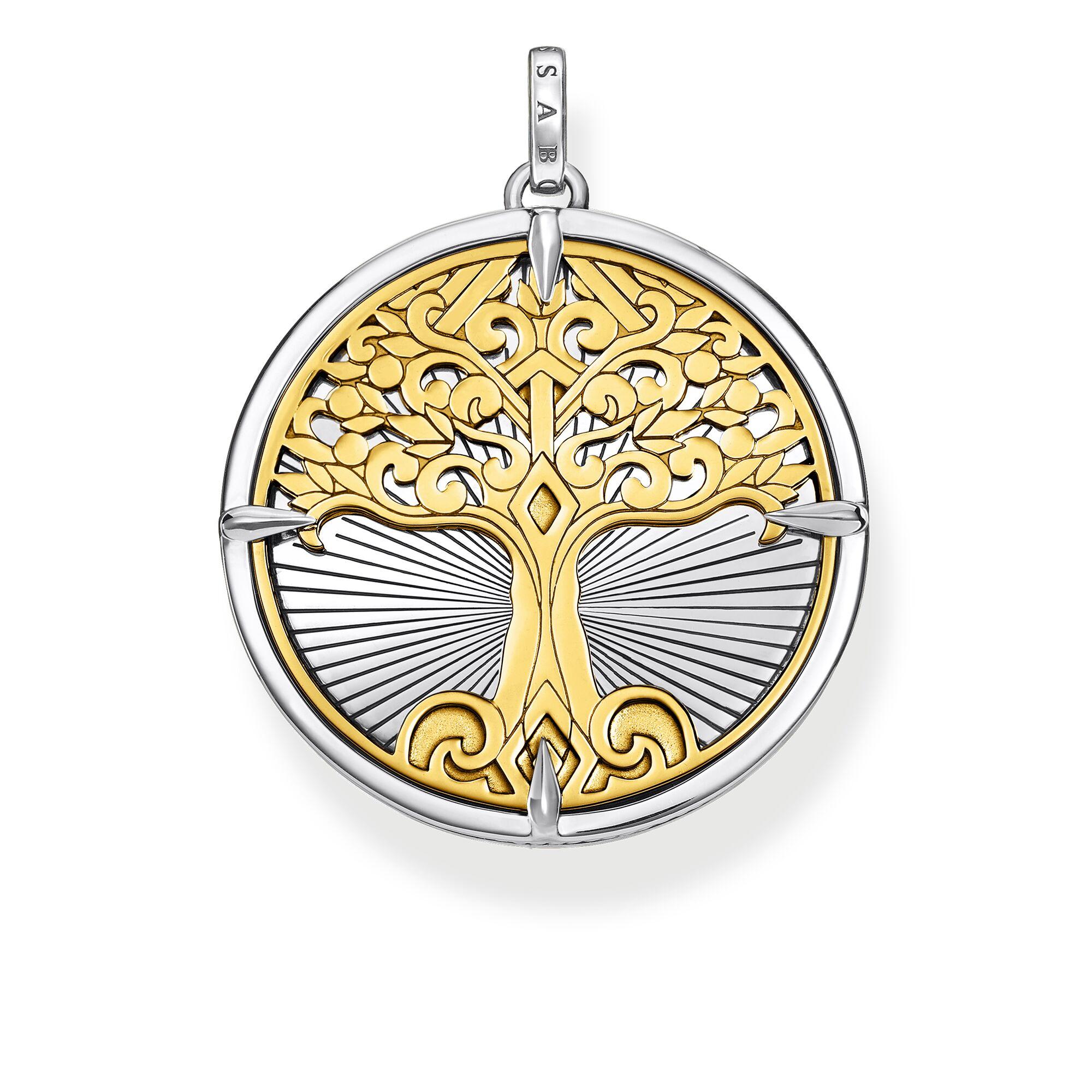 Thomas Sabo Anhänger Tree of Love gold PE885-966-39