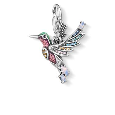 Charm-Anhänger Bunter Kolibri silber 1826-845-7