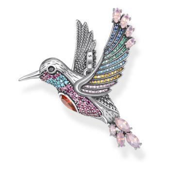 Anhänger Bunter Kolibri silber PE875-342-7