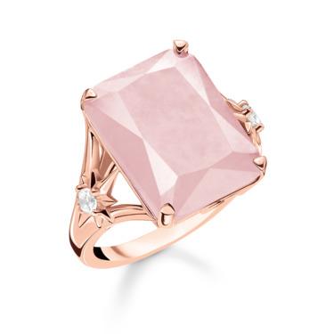 Ring Stein rosa groß mit Stern TR2261-417-9