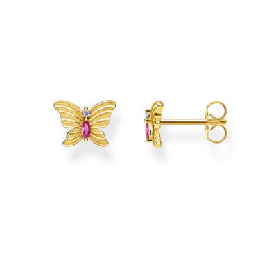 Ohrstecker Schmetterling gold H2100-995-7
