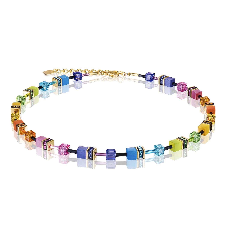 Collier GeoCUBE® rainbow gold 2838101573