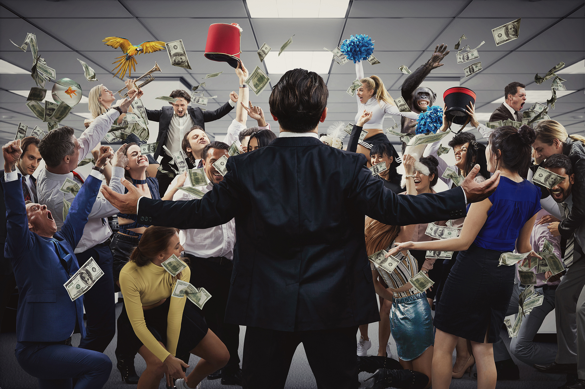 Immersive Adaptation of The Wolf of Wall Street