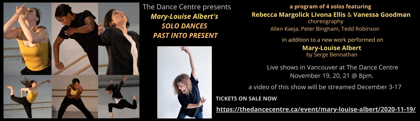 Solo Dances/Past into Present Presented by The Dance Centre