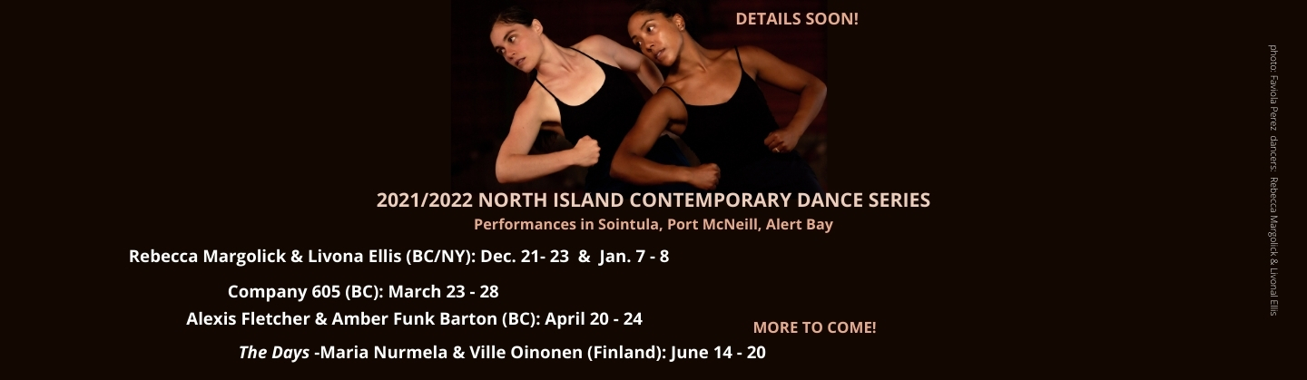 NEW Contemporary Dance Series 2021/2022 - DETAILS SOON!