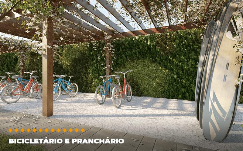 Pranchário e bicicletário