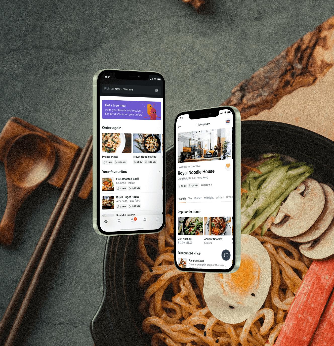 Mobile app screens for Oopsie