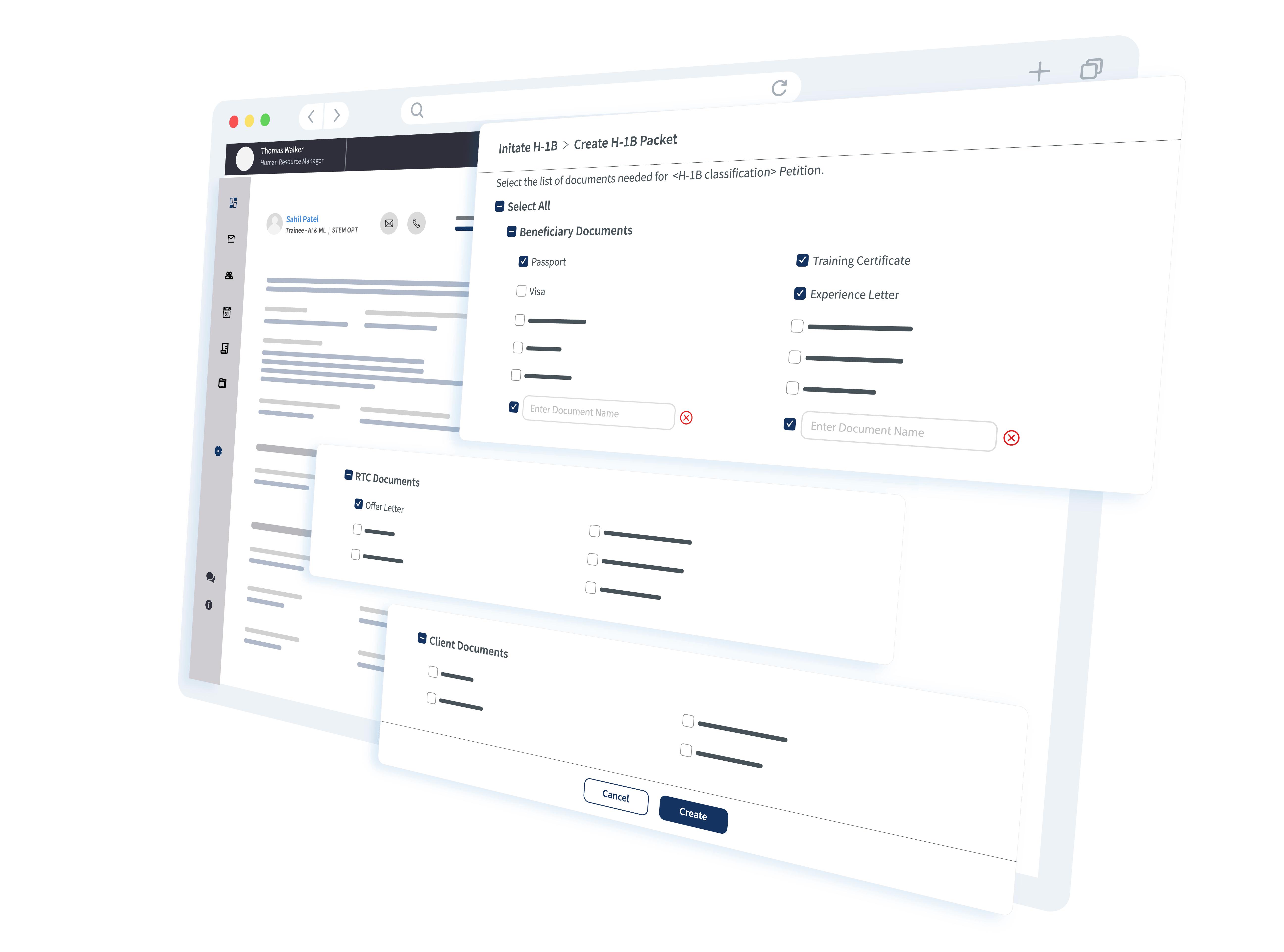 h-1b document checklist