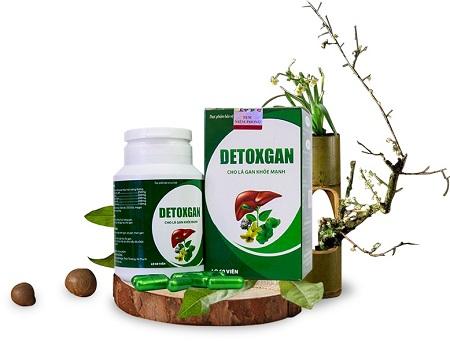 2.Thuốc thải độc gan hiệu quả nhất – DETOXGAN