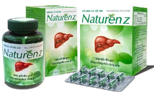 9. thuốc giải độc gan naturenz