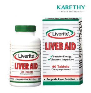 10. Thuốc giải độc gan của Mỹ – Liverite Liver Aid