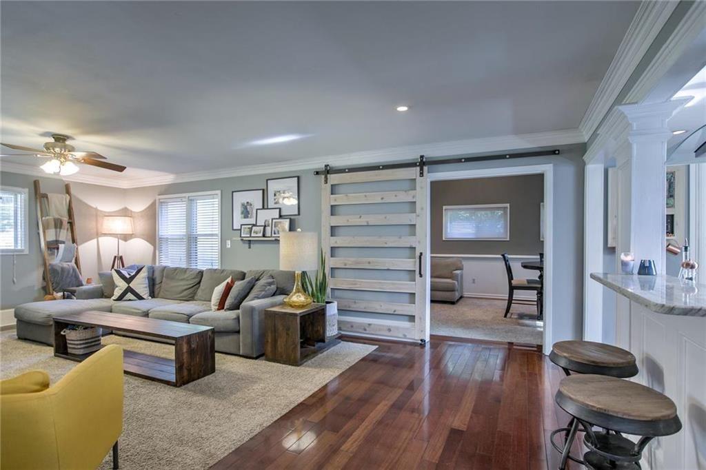 House Flip Living Room Renovation After