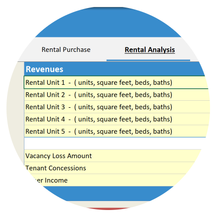 Rental Calculator Feature